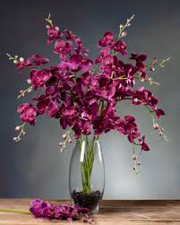 Fake Orchids Shop Exotic Silk Orchid Arrangements U0026 Plants At Petals