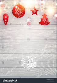 merry christmas card template red transparent stock vector