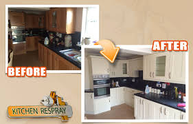 how much does it cost to respray kitchen cabinets respray kitchens painting kitchens ireland