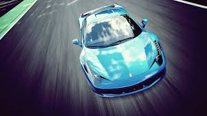 blue ferrari 1920x1080 bright blue ferrari 458 italia desktop pc and mac wallpaper