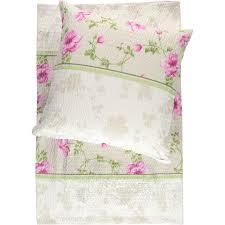 Blumen Bade Awg Mode Seersucker Bettwäsche Mit Blumen 135x200cm Weiß Pink