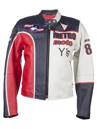 red motorcycle jacket yohji yamamoto motorcycle jacket in red lyst