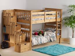 best pine bunk bed with storage u2014 railing stairs and kitchen design
