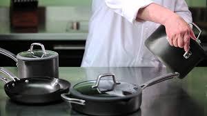 Calphalon Simply Calphalon Easy System Nonstick Cookware Youtube