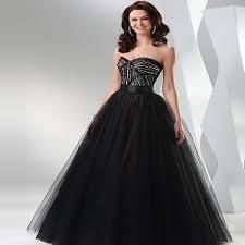 All Black Prom Dress Prom Dress Fashion Mute