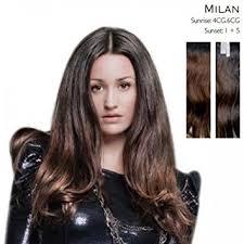 balmain hair balmain hair dress 40cm human extension milan brown co
