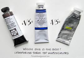 comparing 3 top watercolor brands u2014 scratchmade journal