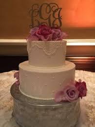 blush rosette design wedding cake beautiful wedding cakes