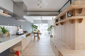 simply open a fluid apartment renovation in japan