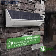 Solar Sign Lights Outdoor by Solar Lights Outdoor 1000 Lumens Max 48 Led Radar Motion Sensor