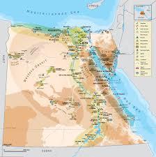 Alexandria On A Map Egypt Tourist Map