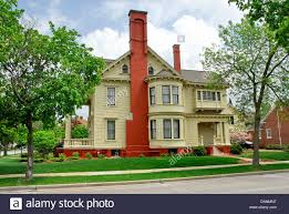 wisconsin house yawkey house museum in wausau wisconsin stock photo royalty free