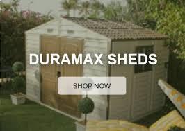 Industrial Sheds Commerical Sheds Lifestyle Sheds Sheds by Duramax Sheds Lifetime Outdoor Vinyl Storage Sheds Kits