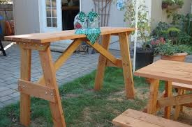 stand up bar table outdoor furniture made in milwaukie or m m creations
