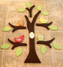 items similar to wooden tree tree wall nursery decor owl