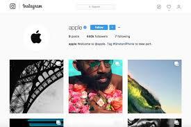 cara membuat akun instagram resmi seperti artis apple bikin akun resmi di instagram pamer hasil foto iphone