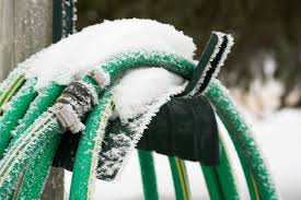 how to prevent an outside faucet from freezing
