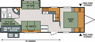 c trailer floor plans class c rv floor plans awesome new 2018 k z inc sportsmen le 261bhle