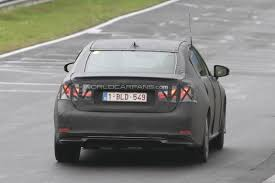 lexus gs 450h v8 motor mania buzz 2012 lexus gs spied testing at the nürburgring