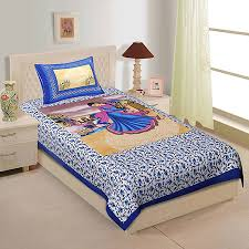 Cover Bed Frame Single Bed Sheet With One Pillow Cover 250350002 Ojario