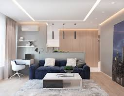 L House Design Modern Apartment Concept With Modern Color Scheme And Natural Wood