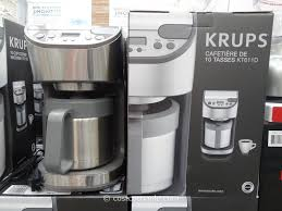 coffee makers costco exciting krups thermal coffee makers costco