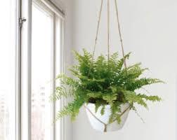modern hanging planters hanging planter etsy