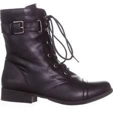 womens black combat boots size 9 rag womens combat boots ankle black lace up size 9 m