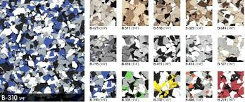 how to use color flakes and color chips for epoxy coatings all