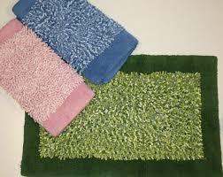 tappeti da bagno tappeti da bagno colorati in ciniglia con antiscivolo cm 55x100