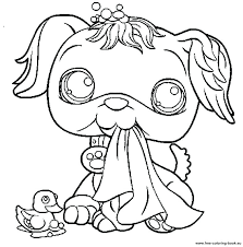 littlest pet shop coloring pages of dogs littlest pet shop coloring pages free coloring pages printable