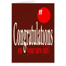 Congrats On New Job Card Congratulations On Your New Job Cards Congratulations On Your New