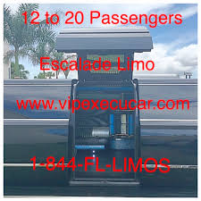 party rentals fort lauderdale cadillac escalade suv miami fort lauderdale limo rental