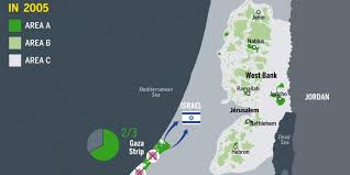 Map Israel The Conflict In Gaza Explained In One Map Huffpost