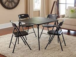 Folding Dining Table And Chairs Set with Best 25 Card Table And Chairs Ideas On Pinterest Card Table
