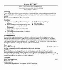 Special Education Resume Examples by Resume Teacher Template Billybullock Us