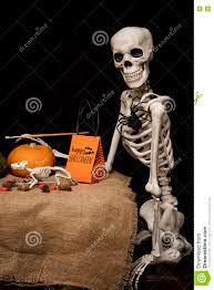 halloween skeleton game halloween skeleton painting pumpkins stock photo image 77514179
