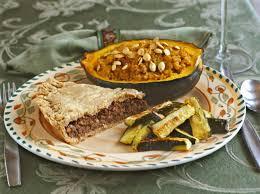 i am thankful for vegan tortiere pie gluten free