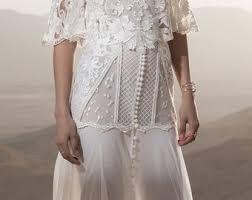 flowy wedding dresses flowy wedding dress etsy