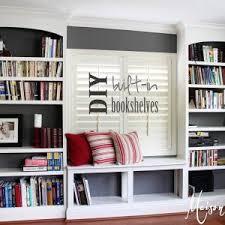 Built In Bookshelf Designs Interesting Built In Bookshelves Kit Pictures Ideas Surripui Net