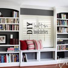 Built In Bookcase Designs Briliant Decoration For Built In Bookshelves Ideas Surripui Net