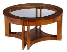 coffee table unique round and glass coffee table design