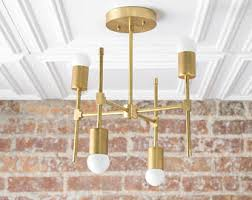 gold ceiling light fixtures gold sputnik light geometric chandelier semi flush beach house