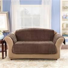 Striped Slipcovers For Sofas Furniture Elegant Leather Slipcover To Beautify And Protect Your