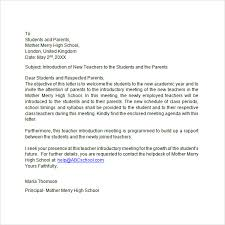 bunch ideas of teacher letter of introduction in resume