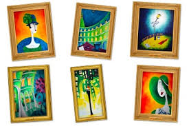 paintings iconset 6 icons andrea aste