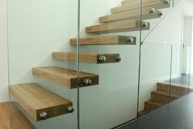 escalier garde corps verre pose d u0027un escalier autoporteur futura d u0027un habillage de marche et