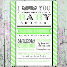 mustache baby shower invitations mustache baby shower invitation digital