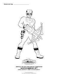 coloring pages power ranger coloring power rangers samurai