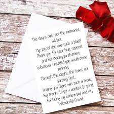 matron of honor poem poems for of honor wedding gallery